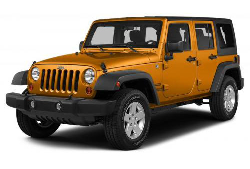 Jeep Wrangler Unlimited Orange
